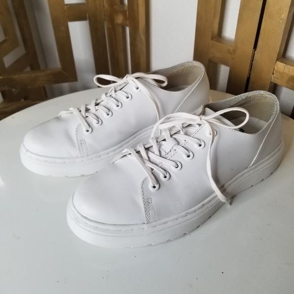 Dr Martens Dante White Leather Sneaker